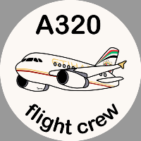 A320 Etihad Sticker