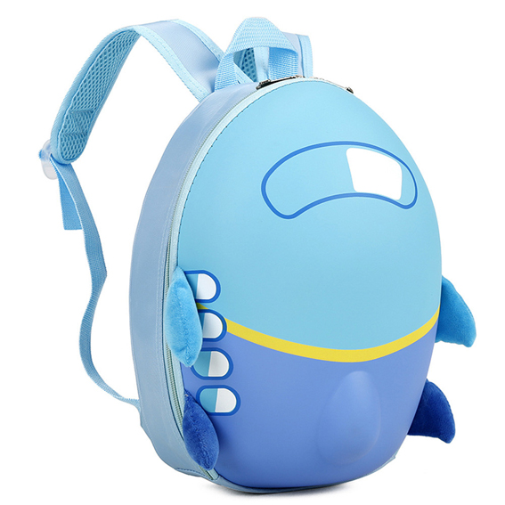 Mochila de avión / Blue Airplane Backpack