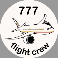 B-777 Etihad Sticker