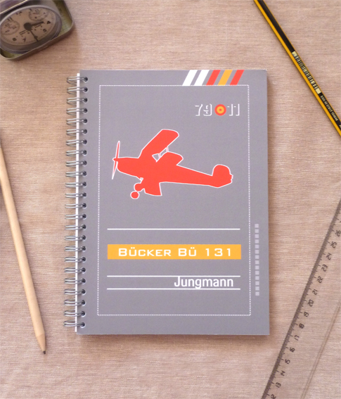 Cuaderno Bücker Bü 131 Notebook