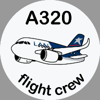 A320 LAN Sticker