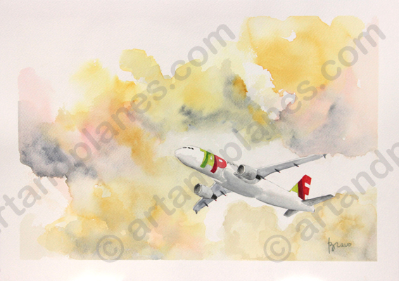 A320 TAP Painting