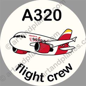 A320 Iberia Express Sticker