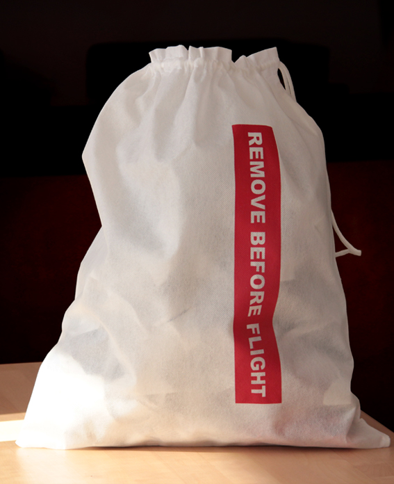 Remove Before Flight - Shoe/Laundry travel bag