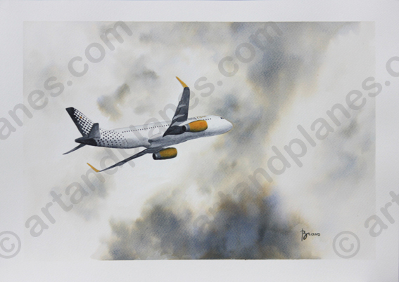 A320 Vueling II Painting