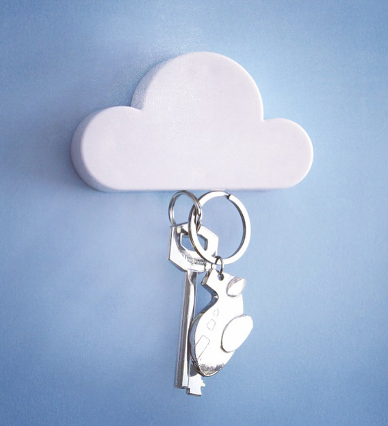 Nube imán sujeta llaves - Key holder