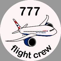 B-777 British Airways Sticker