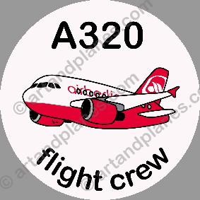 A320 Air Berlin Sticker