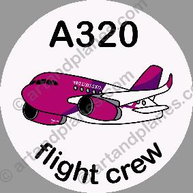 A320 Wizz Air Sticker