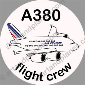 A380 Air France Sticker