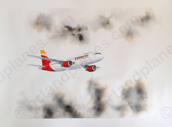 A320 Iberia Express Painting