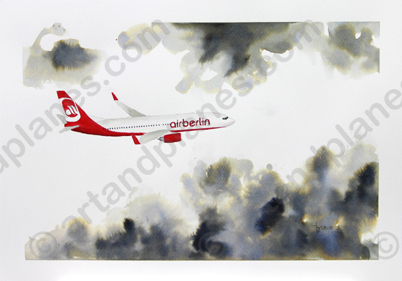B737 Air Berlin Painting