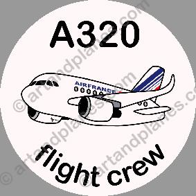 A320 Air France Sticker
