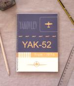 Cuaderno Yak-52 Notebook