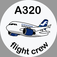 A320 Finnair Sticker
