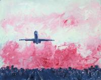 MD80 skyline Painting
