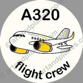 A320 Vueling Sticker