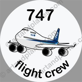 B-747 ANA Sticker