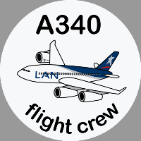 A340 LAN Sticker
