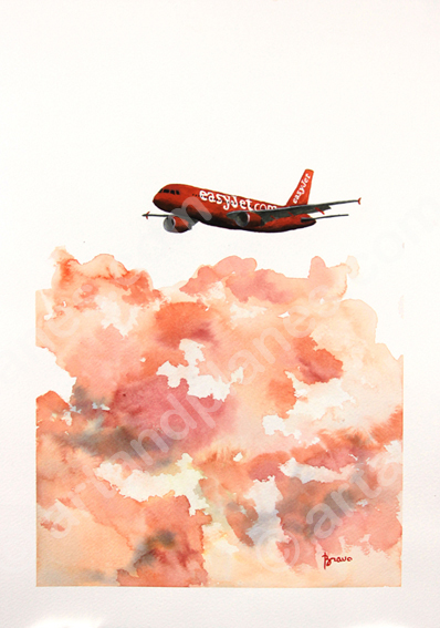 A319 easyJet Carrot Painting