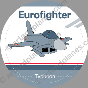 Pegatina Eurofighter Sticker